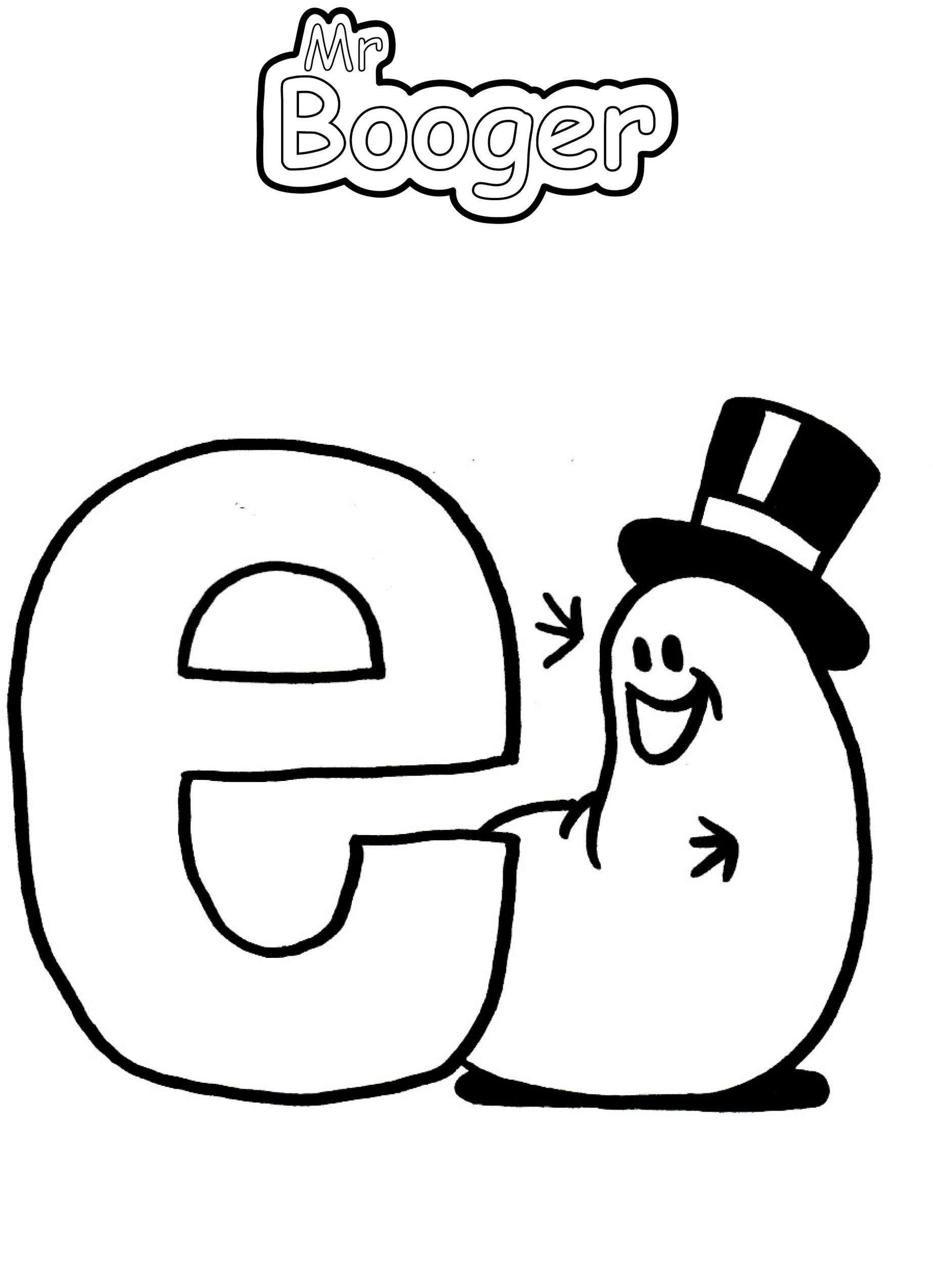 Alphabet - E