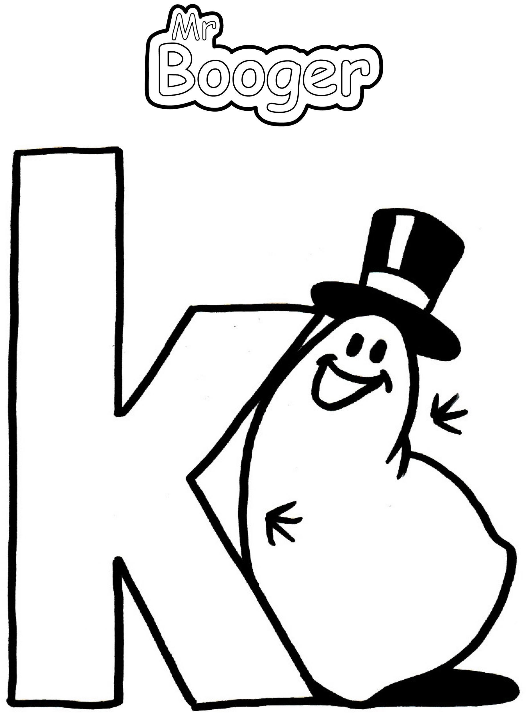 Alphabet - K