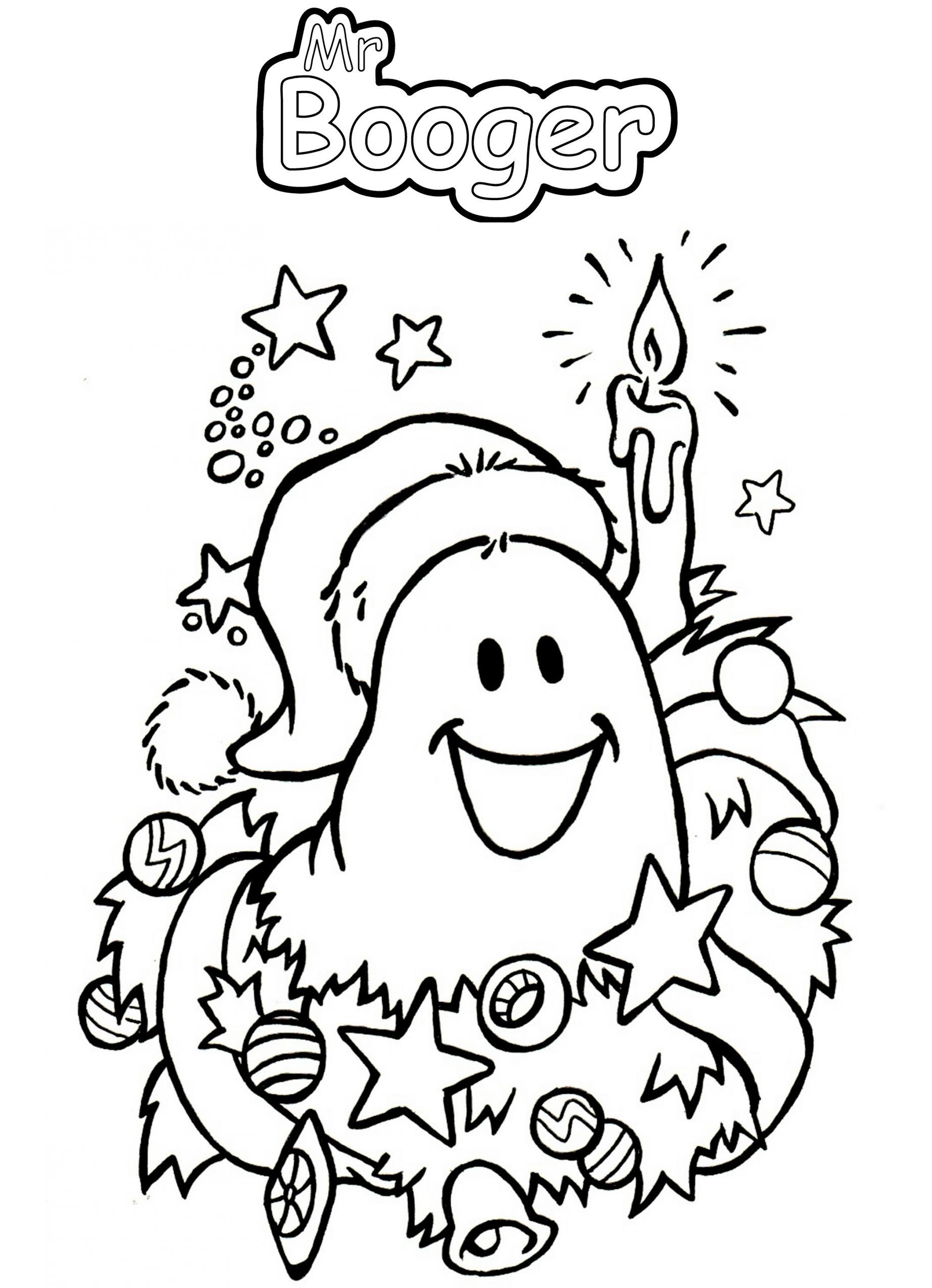 Christmas Mr Booger